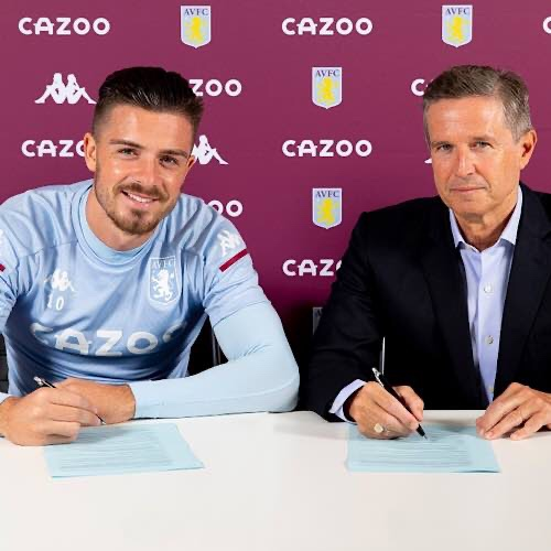 Aston Villa Football Club Is Delighted To Announce Jack Grealish Has Signed A New Five-Year Contract
