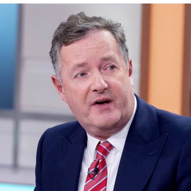 Piers Morgan Donated 640 To Funeral Fund Of Late Britain S Got Talent