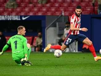 Atletico Madrid Moved Nine Points Clear Of Barcelona In La Liga