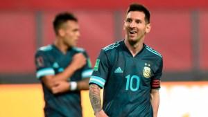 Lionel Messi Praised Argentina's Performance Against Peru