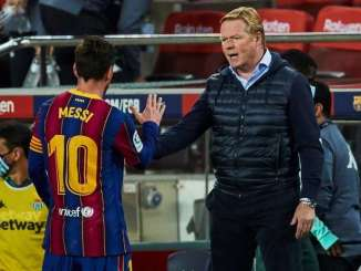Messi Praised By Ronald Koeman