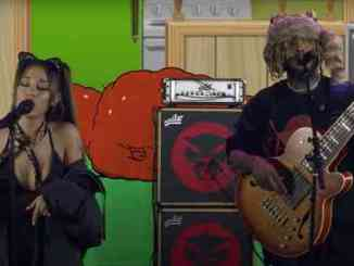 Thundercat perform 'Them Changes' with Ariana Grande for Adult Swim