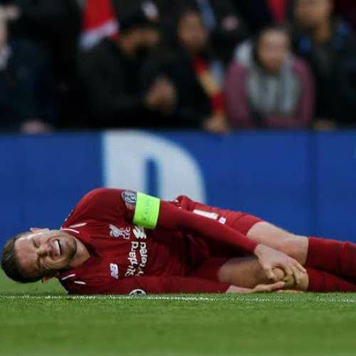 Liverpool's Jordan Henderson Injury adds to Klopp's headache