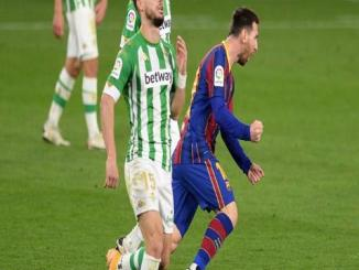 Messi Inspired Barcelona To A 3-2 Victory Over Real Betis