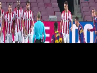 Messi Started Barcelona's Win With A Superb Free-Kick