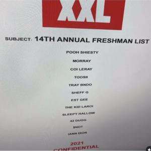 XXL freshmen list for 2021