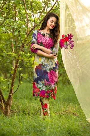 Asifa-Nabeel Lawn 5A – Flower Power