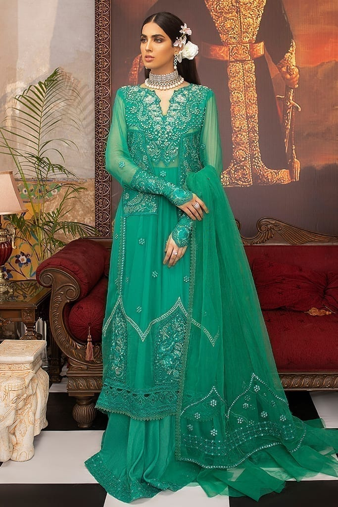 MUSHQ | Monsoon Affair Luxury STITCHED collection*20 | CELESTE