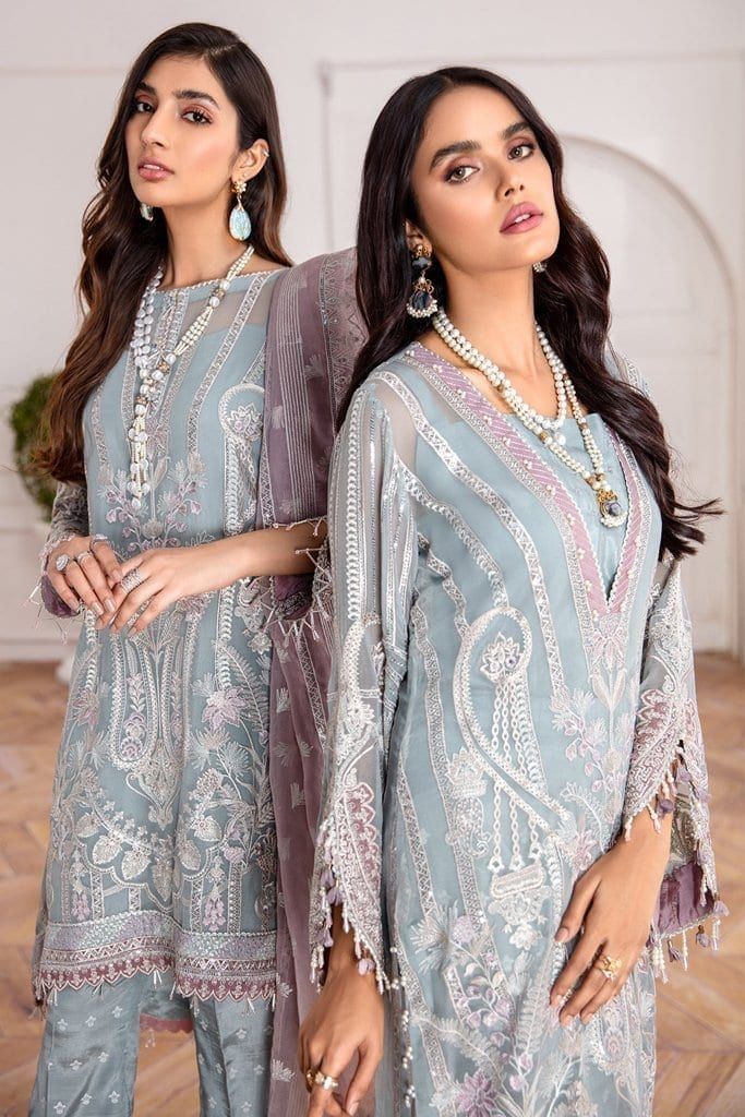 JAZMIN | Mahpare | Luxury Embroidered Stitched Collection | Liana