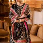 Noor By Saadia Asad   Festive Embroidered Collection   D4- Lerae