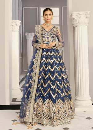AKBAR ASLAM | FORMALS Collection | PERIWINKLE