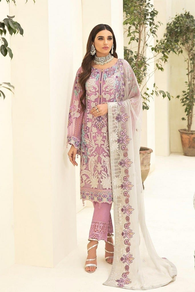 RAMSHA | CHERVAN EMBROIDERED Collection | A-301