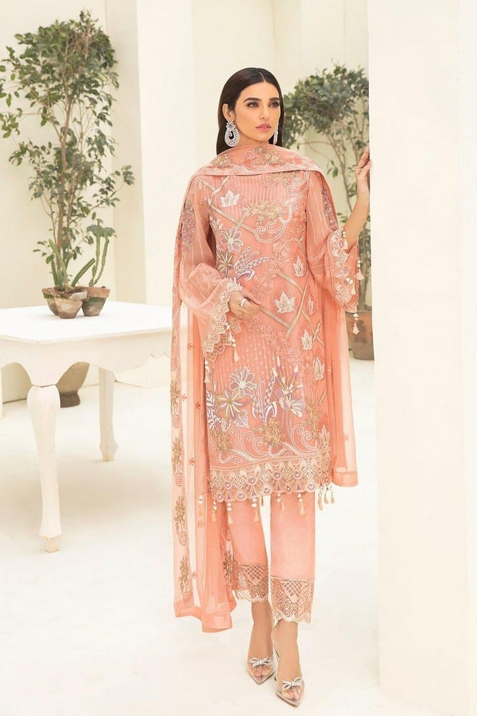 RAMSHA   CHERVAN EMBROIDERED Collection   A-310