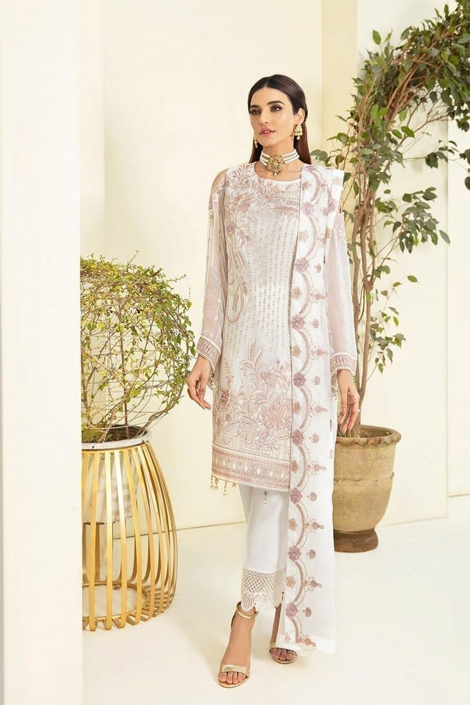RAMSHA   CHERVAN EMBROIDERED Collection   A-304