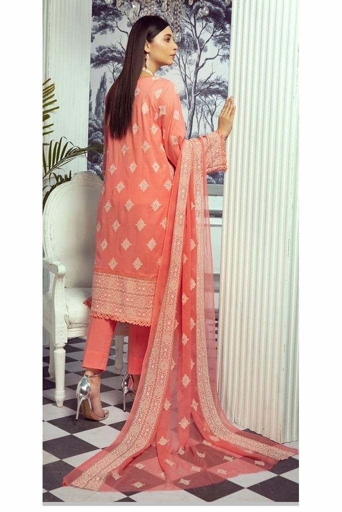 KHOOBSURAT   CLASSIC SWISS EMBROIDERED Collection   CS-312