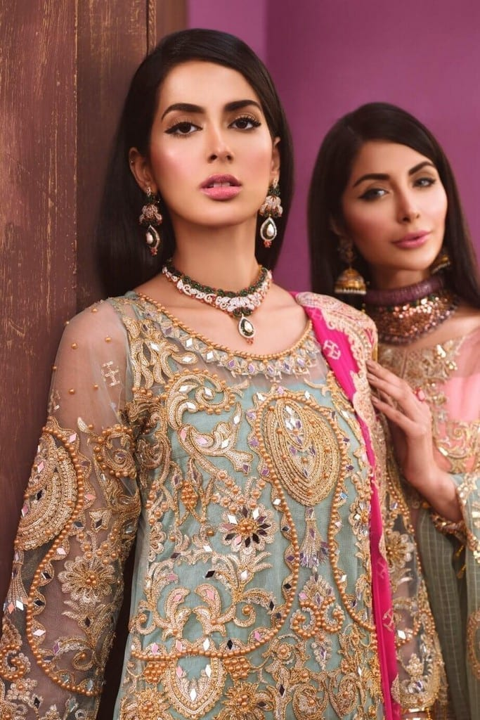 MARYAM N MARIA | FRESSIA EMBROIDERED Collection | MAJESTIC (FF-07)