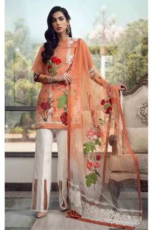ASIFA N NABEEL | LUXURY LAWN Collection | 99-R ROSE