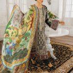 MARYUM N MARIA | Embroidered Lawn | Deep Royal (ML-07)