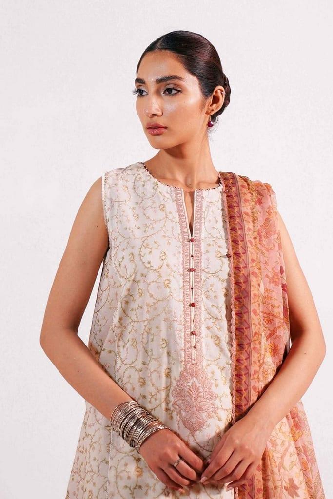 ZARA SHAHJAHAN   Embroidered Lawn Suits   MEHAR-B