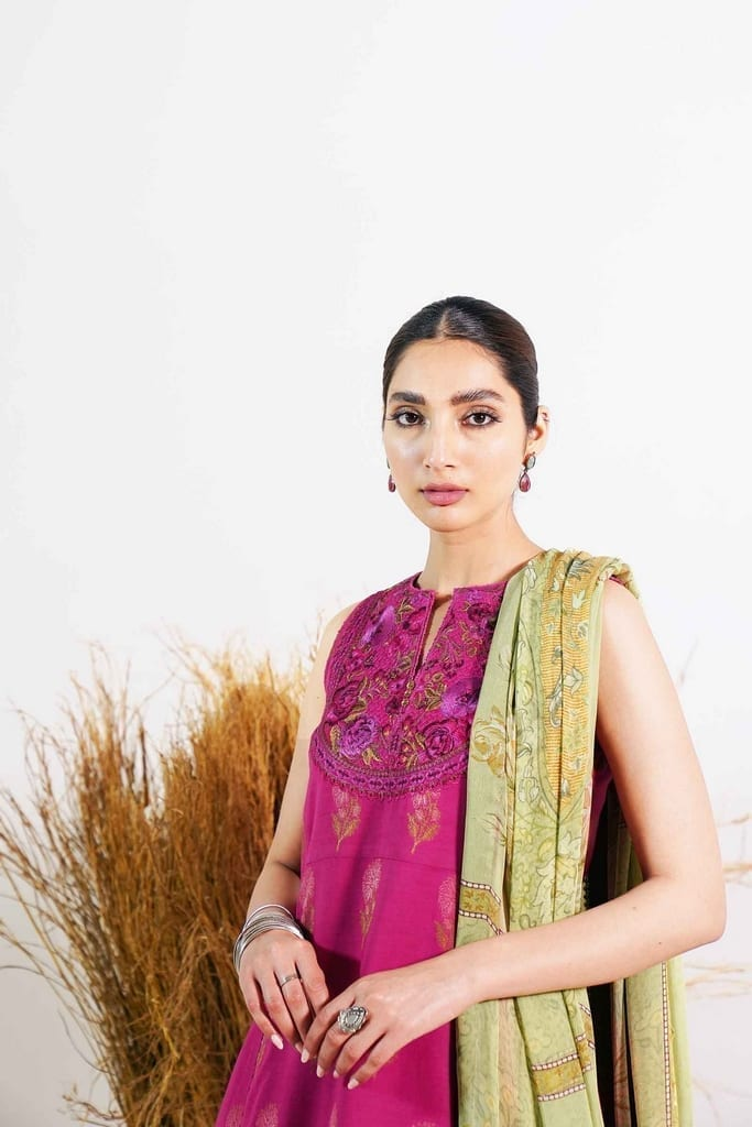 ZARA SHAHJAHAN | Embroidered Lawn Suits | PREET-B