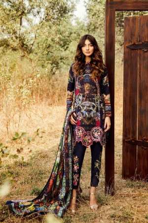 ASIFA N NABEEL | EMBROIDERED KHADDAR Collection |  11A THAT EVE