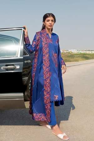 ZAHA LAWN | Embroidered Lawn Suits | ZAVOSH (ZL21-14 B)