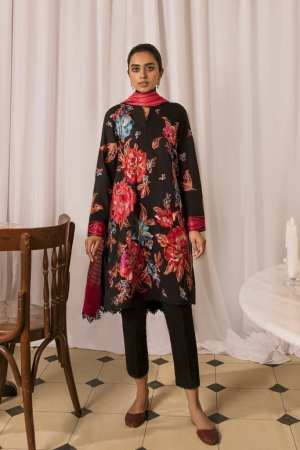 ZAHA LAWN | Embroidered Lawn Suits | AREZU (ZL21-04 B)