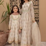 MARIA B | MOMMY N ME | READY TO WEAR | Suit Off White DW-EF21-41