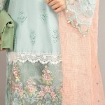 MARIA B | READY TO WEAR CASUAL  | Suit Ice Blue DW-EA20-21