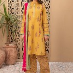 MARIA B | MOMMY N ME | READY TO WEAR | Suit Mustard DW-EF21-29