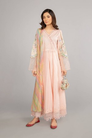 MARIA B | READY TO WEAR CASUAL  | Suit Baby Pink DW-SS21-09