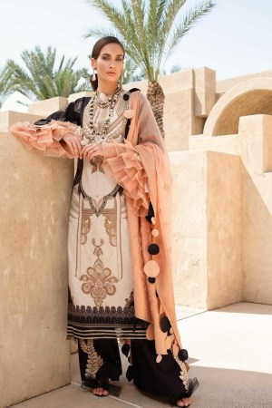 SHIZA HASSAN | LUXURY LAWN COLLECTION 2021 | 9-A FATIN