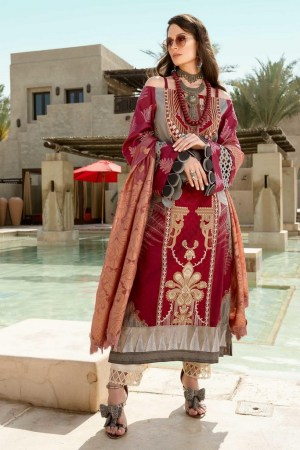 SHIZA HASSAN | LUXURY LAWN COLLECTION 2021 | 9-B FATIN