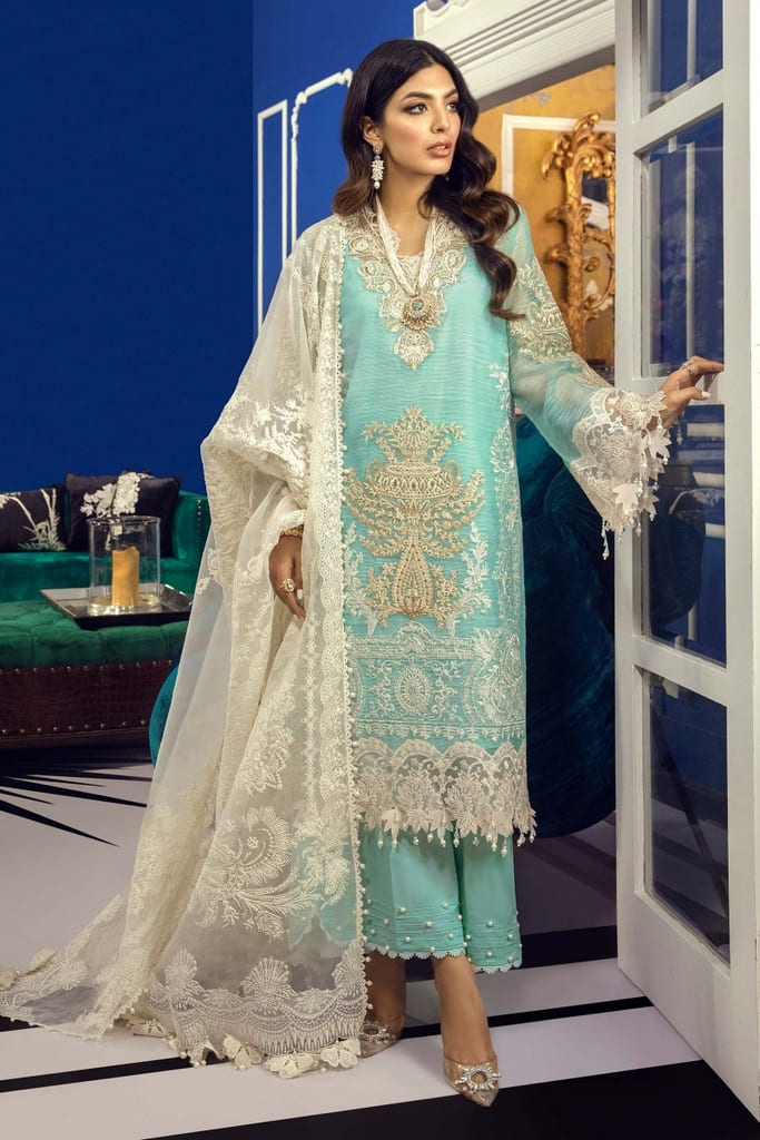 SANA SAFINAZ | MUZLIN FESTIVE Collection | M212-002B-CJ