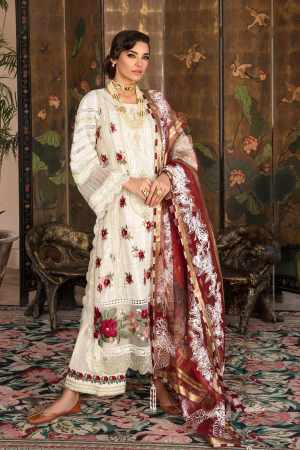 CRIMSON BY SAIRA SHAKIRA | LUXURY SUMMER Collection'21 | 7B SCARLET
