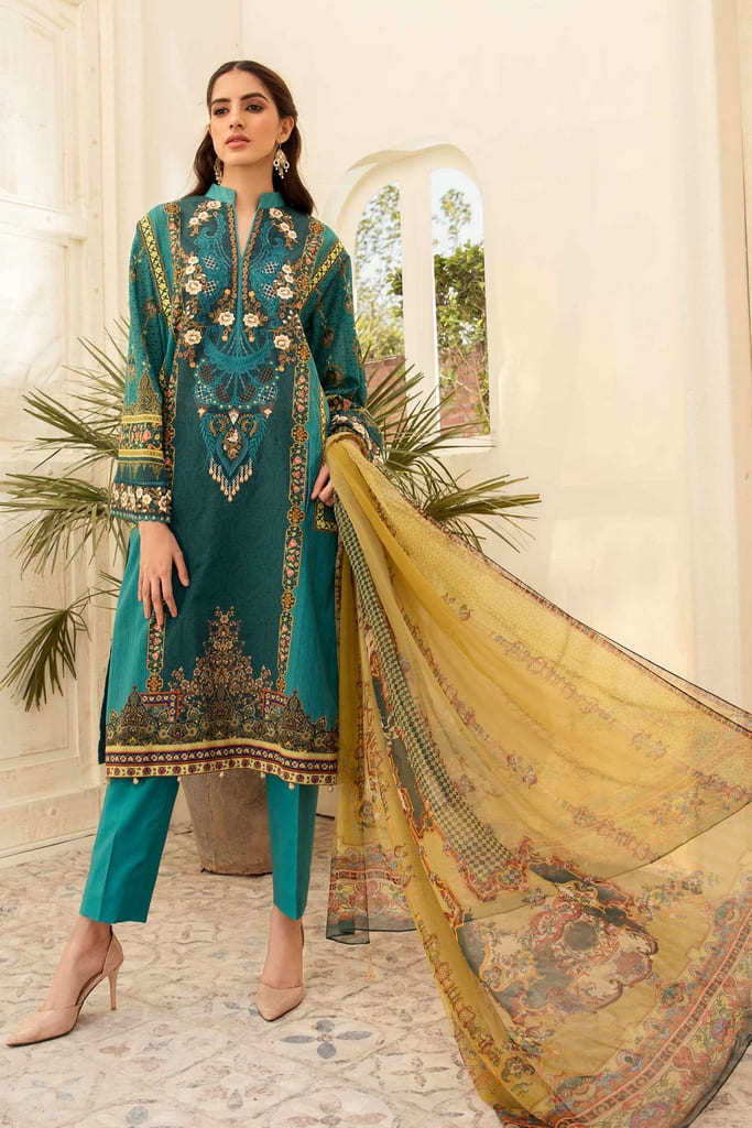 AARYRA | LUXURY LAWN'21 Collection | ARD-407-B