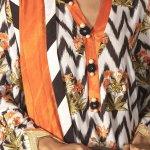CROSS STITCH | MANZIL KHADDAR & LINEN COLLECTION'21 | RUSSET TWILL