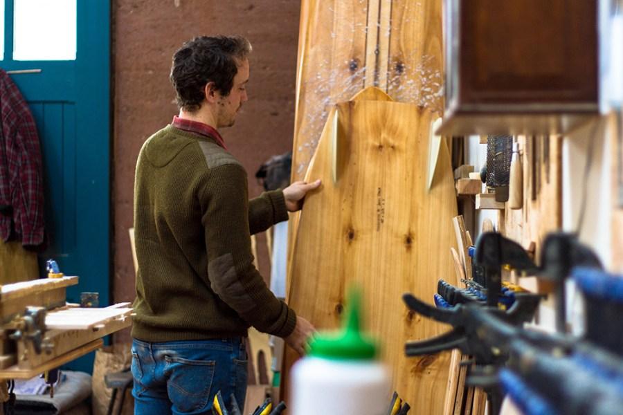 james otter wooden surf