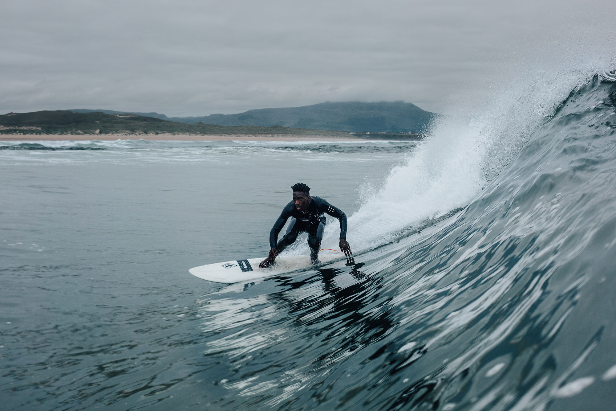 Finisterre wetsuit programme