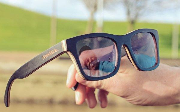The Orton Polarized Wooden Sunglasses Carl Zeiss Lenses 2000x