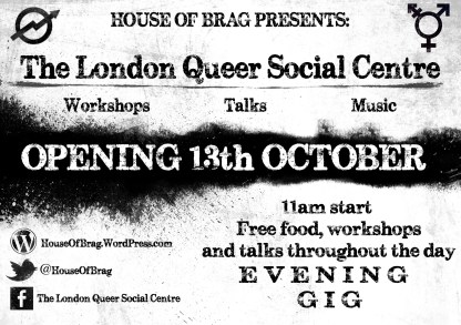 London Queer Social Centre Flyer (1)
