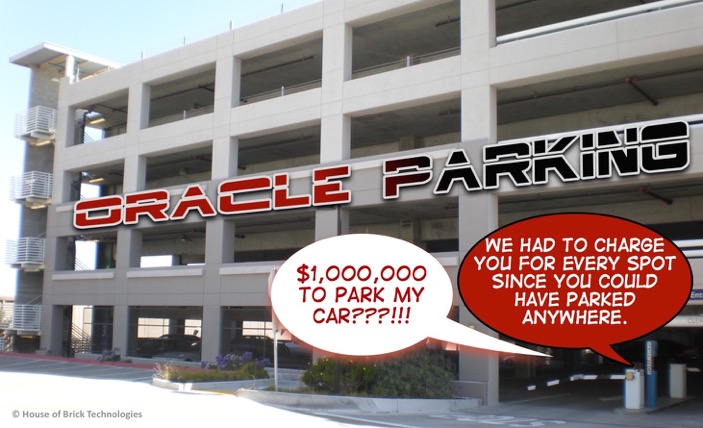 Oracle parking garage