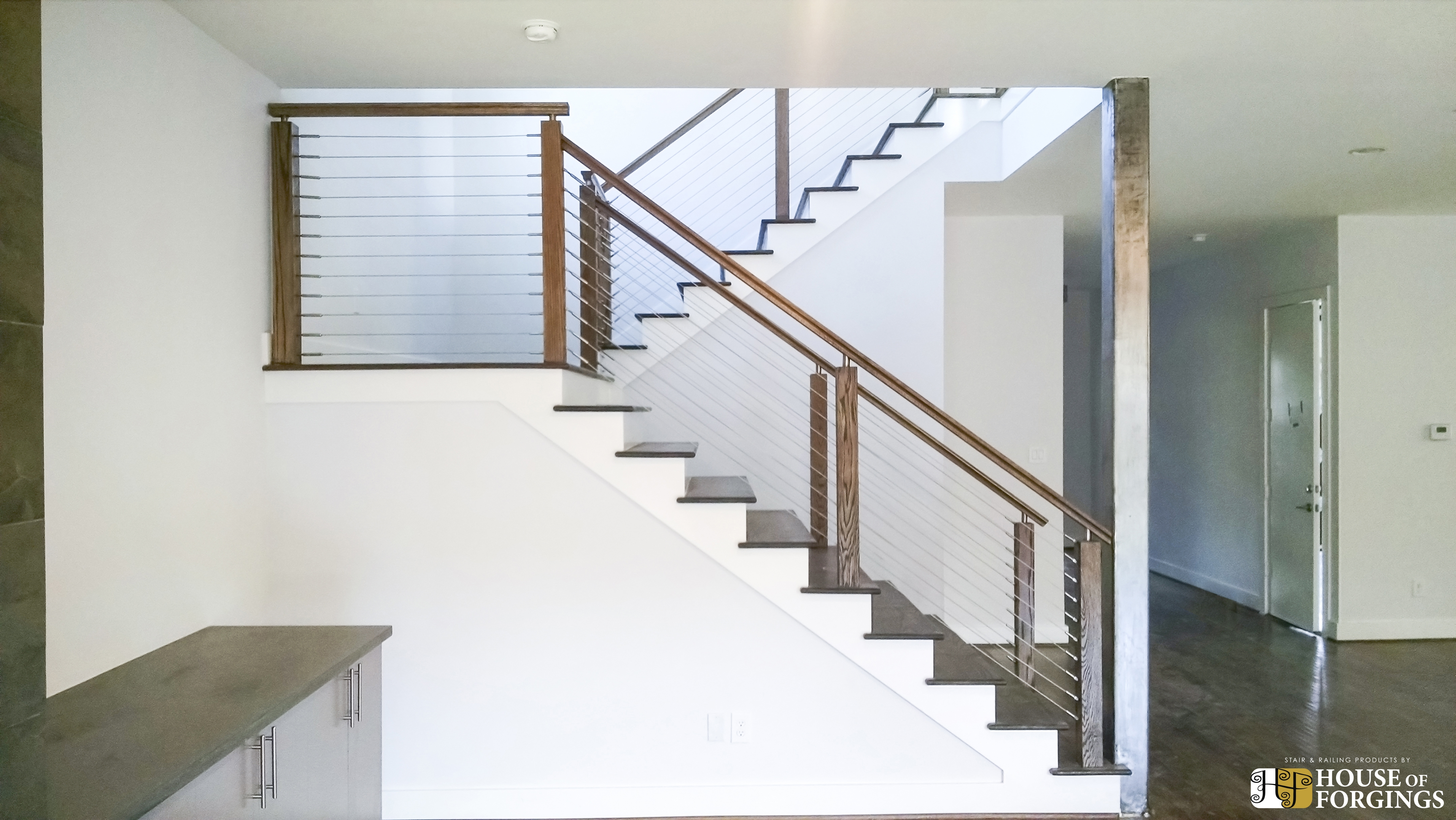 Cable Railing Systems For Stairs Balconies   Railings Stairs Inside House   Wood   Cable Railing Systems   Deck Railing   Glass Railing Ideas   Banister
