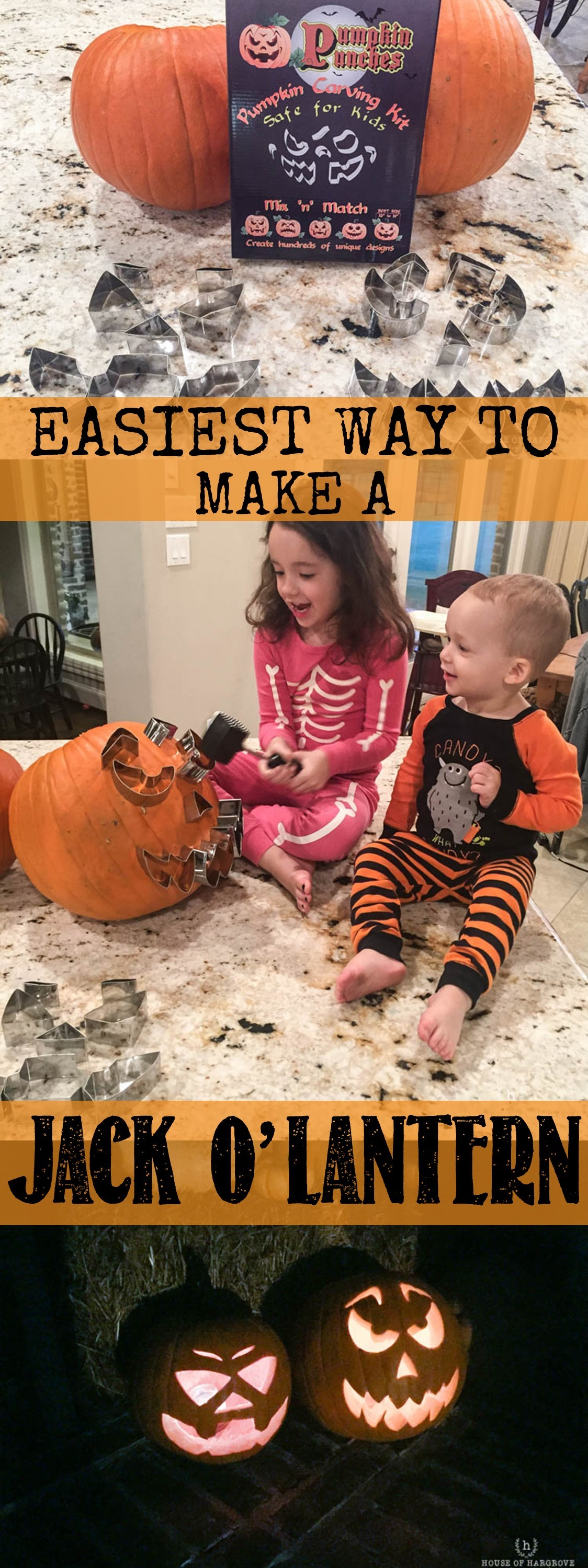 Easiest Way To Make A Jack O Lantern
