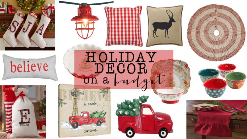 Fun, Festive, Holiday Decor On A Budget