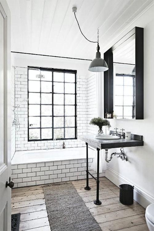 Modern Farmhouse Bathrooms - House of Hargrove