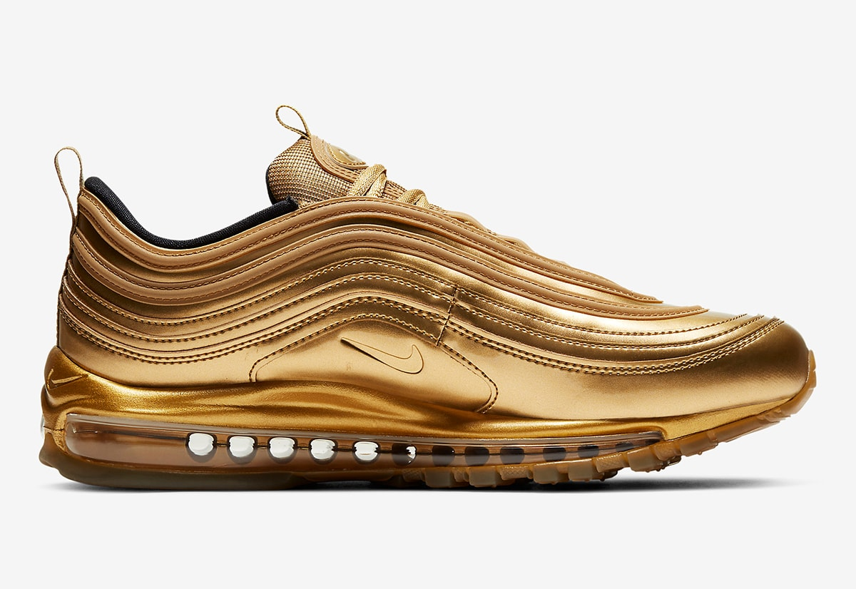 Available Now Air Max 97 Gold Medal House Of Heat Sneaker News Release Dates And Features