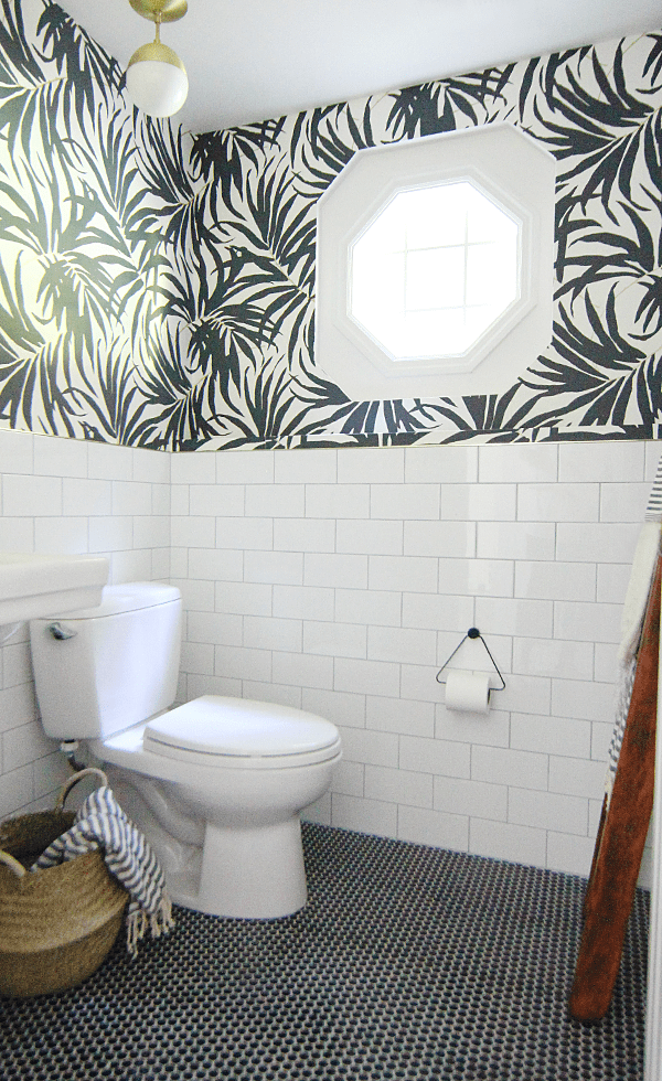 Basement Bathroom Makeover Update House Of Hipsters