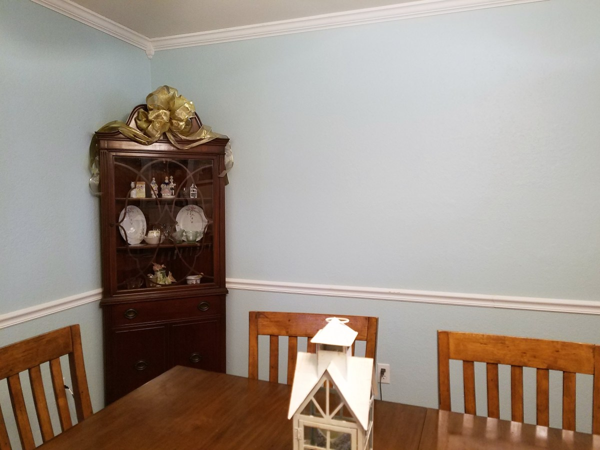 New Color for the Dining Room