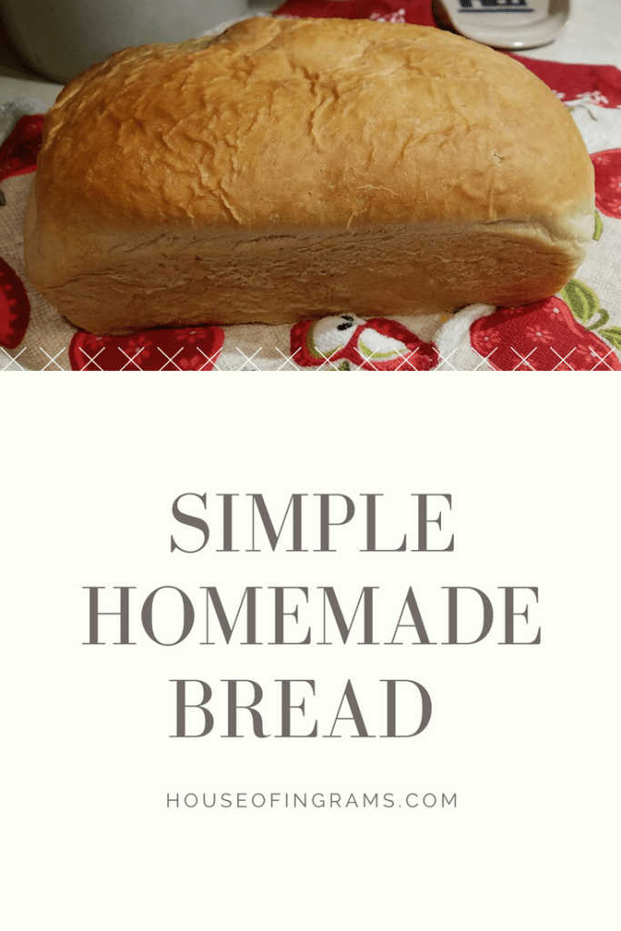 Simple Homemade Bread from HouseofIngrams.com